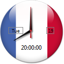 France Clock