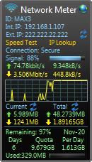 Network Meter Version 8.0